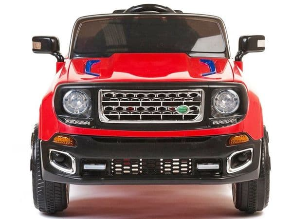 Kids ride on JEEP red colour 12 volt electric sit and ride-in toy car